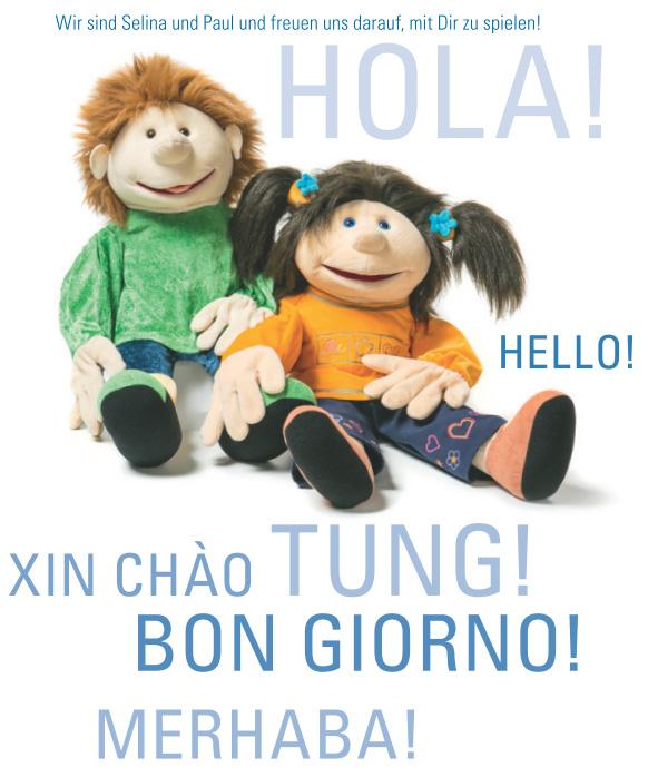 Wir sind Selina und Paul und freuen uns darauf, mit Dir zu spielen!